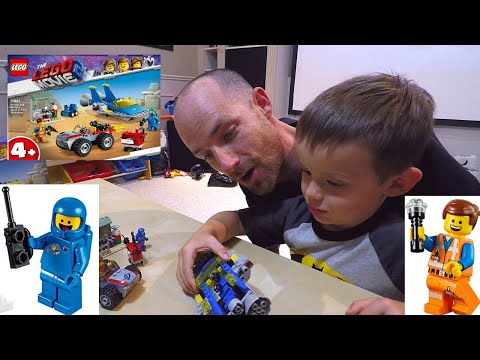 The Lego Movie 2/Emmet and Benny's 'Build and Fix' Workshop Toy Review and PLAY!