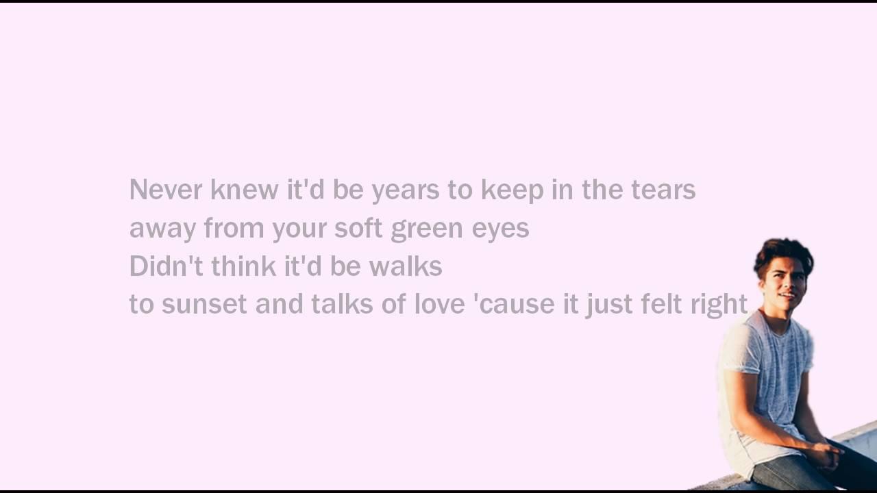 young and foolish lyrics alex aiono
