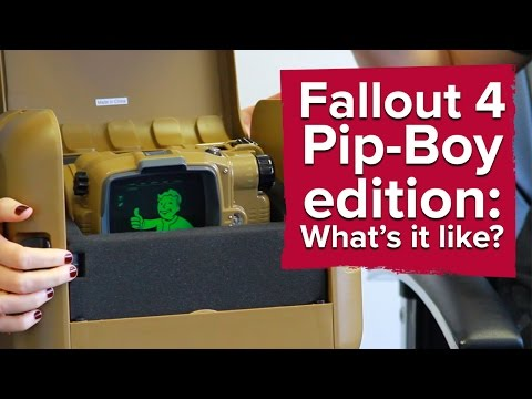 Fallout 4 Pip-Boy Edition already on eBay for up to £400