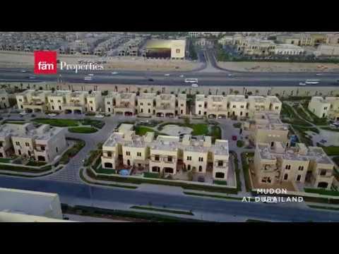 Aerial View of Mudon Villas - Dubailand