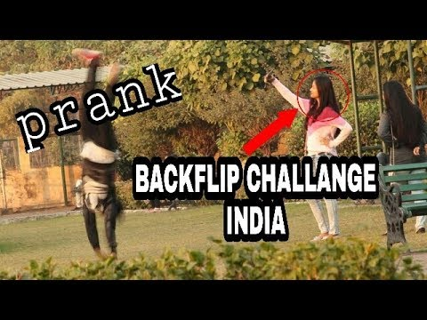 backflip challange in india prank |public funny reactions