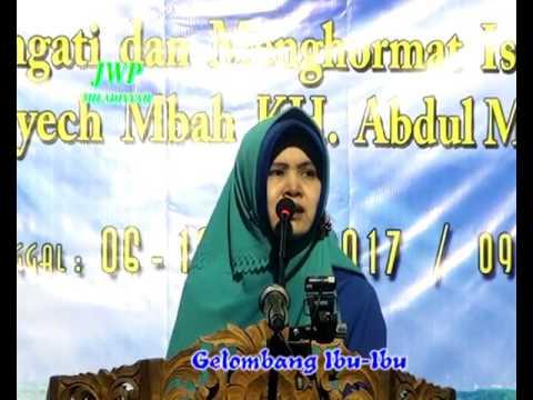 Mujahadah kubro 8 april 2017  kuliah wahidiyah gel ibu-ibu