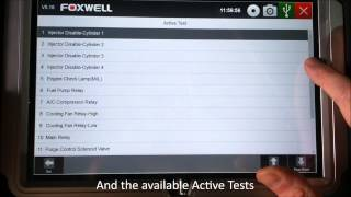 Hyundai Tucson System Scan and Actuations with a Foxwell GT80 Diagnostic System