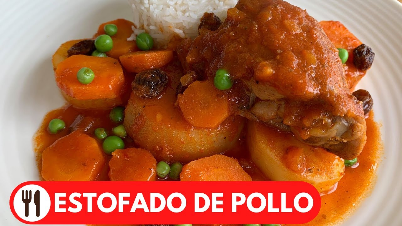 🇵🇪 ESTOFADO DE POLLO | SUPER FACIL Y SABROSO