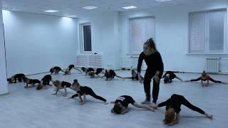 Видео-урок (I-семестр: декабрь 2017г.) - филиал Червишевский, группа 3-6 лет, Детский танец