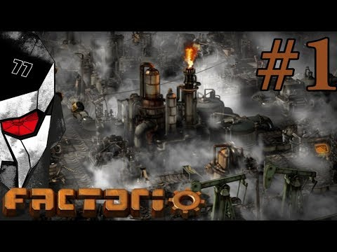 How to play FACTORIO - A perfect start! #1