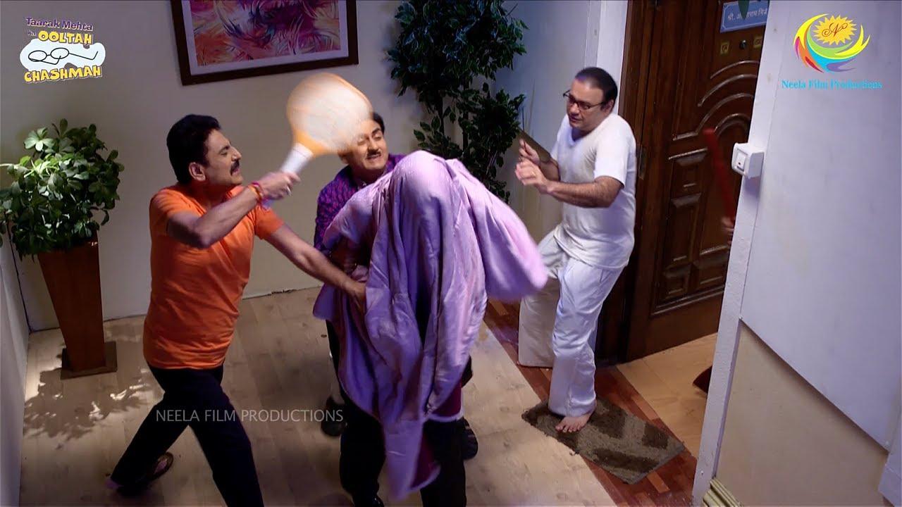 Download NEW! Ep 3279 - Jetha Aur Taarak Ne Chor Ko Pakda! | Taarak Mehta Ka Ooltah Chashmah | तारक मेहता