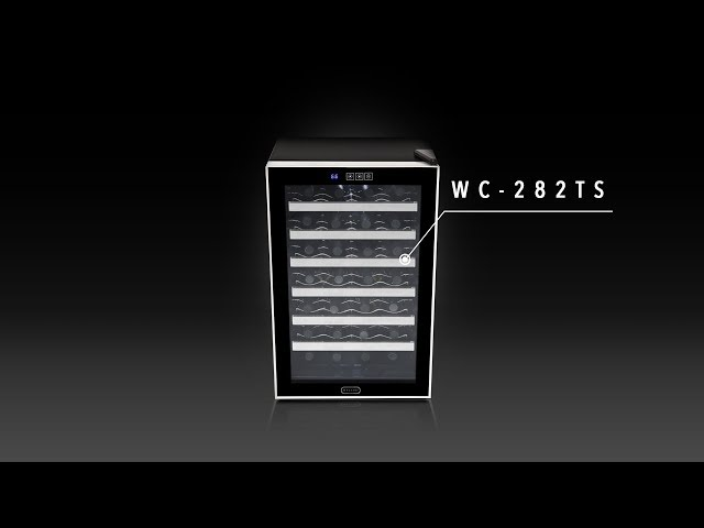 WC-282TS Whynter 28 Bottle Touch Control Stainless Steel Freestanding Wine Cooler