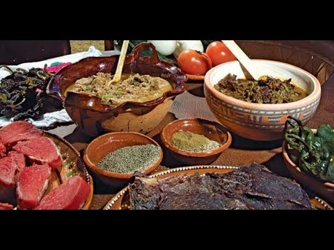 Delicias De La Comida Mexicana Diferentes Platillos De