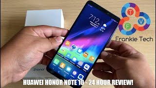 Huawei Honor Note 10 - 24 Hour Review!