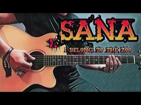 Sana - I Belong To The Zoo (Guitar Cover With Lyrics & Chords) - YouTube