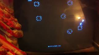 Atari Asteroids 1979 Coin Operated Arcade Machine