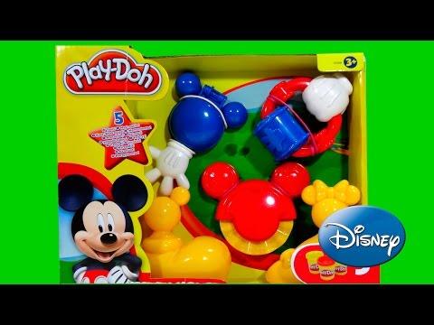 Play Doh MOUSKATOOLS A Casa Do Mickey Mouse Clubhouse Disney Junior