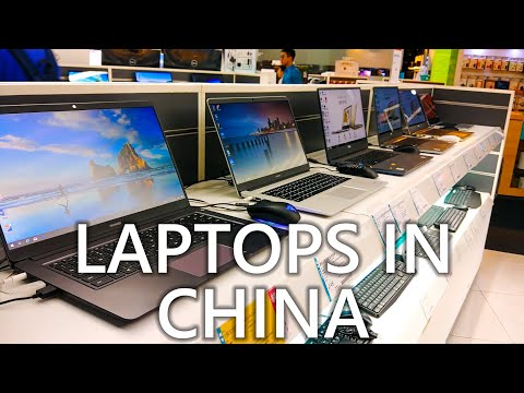 Laptops In China Apple Alienware MSI HP ASUS Dell Lenovo Huawei Prices 💻