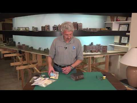 Adding Small Details Outside Model Railroad Buildings