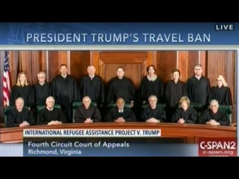 Virginia Appeals Court Hears Oral Argument on President Trump's Revised Travel Ban
