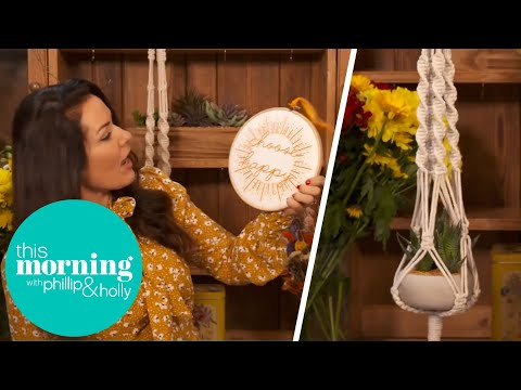 Georgina Burnett Shares The Latest Must Have Craft Hobby Boxes! | This Morning