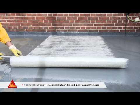sika premium balkon system sikafloor 405 mashpedia video. Black Bedroom Furniture Sets. Home Design Ideas