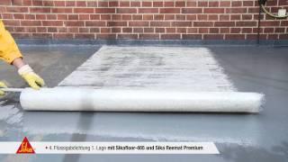 Sika - Premium Balkon System Sikafloor 405