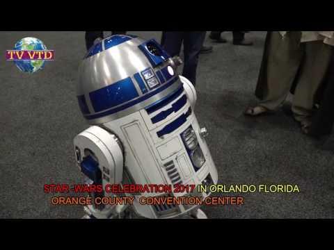 Star Wars Celebration  -Guerra nas estrela encontro anual em orlando florida