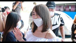 8일 서울 강서구 김포국제공항으로 출국하는 AKB48 타카하시 쥬리(高橋 ...