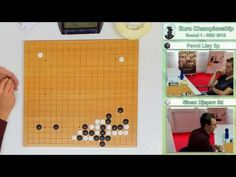 European Championship 2018 Round 1 - Pavol Lisy 2p Vs Sinan Djepov 5d
