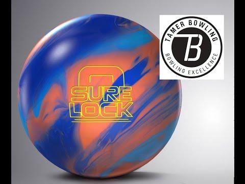 Storm Sure Lock Bowling Ball Review vs Lock by TamerBowling.com