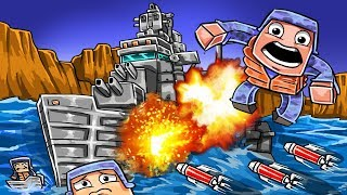 Roblox | BATTLESHIP VS BATTLESHIP - Red vs Blue! (Roblox Boat Wars)