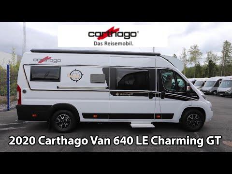 Carthago Van GT 640 LE Charming 2020 Camper Van 6,36 m