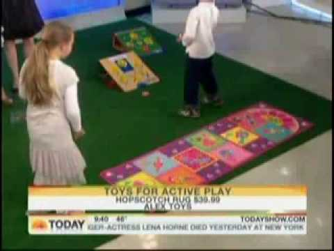 Alex Toys Hopscotch Rug Featured On The Today Show