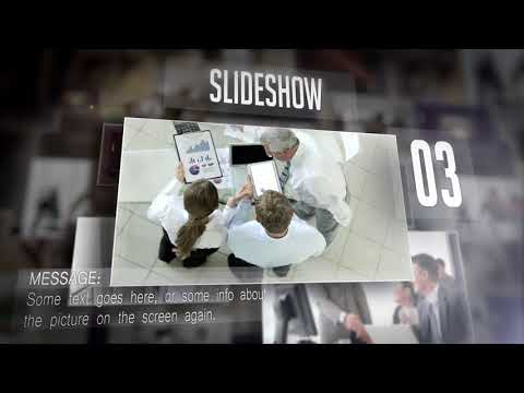 Corporate Display Slideshow - Free After Effects Template