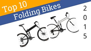 10 Best Folding Bikes 2015