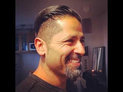 Short Undercut Hairstyles with Beards