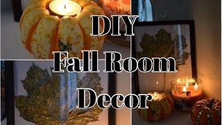 DIY- Fall Room Decor 2014 [HD] Thumbnail