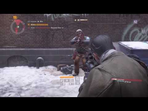 Tom Clancy's The Division™ -- Lucky345_ and zoerman Stroll Manhattan's Dark Zone Areas 03 and 02.