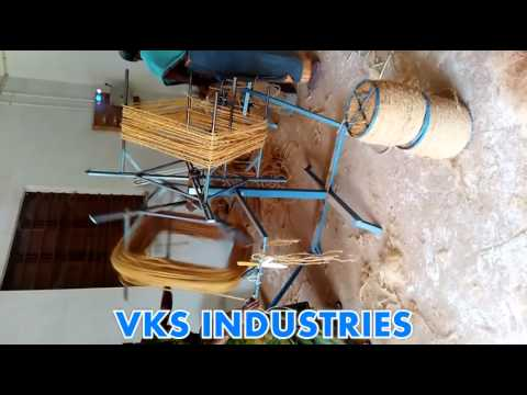 VKS INDUSTRIES Manual coir yarn rewinding machine
