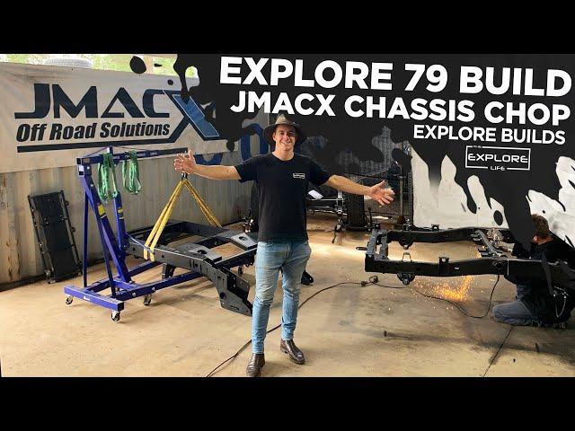 JMACX 4495 GVM UPGRADE THE ULTIMATE 4WD PLATFORM  || EXPLORE BUILDS - 79 SERIES PART 2 - The Explore Life