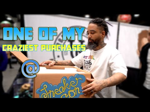 Buying The Most Expensive Sneaker We Have Ever Purchased. (Sneakercon Vancouver. So Much Heat!)