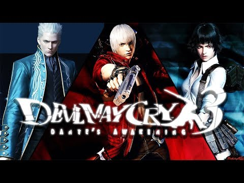 DEVIL MAY CRY 3: Dante's Awakening All Cutscenes (Game Movie) 1080p HD Collection