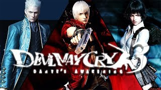 DEVIL MAY CRY 3 Dante S Awakening All Cutscenes Game Movie 1080p HD Collection