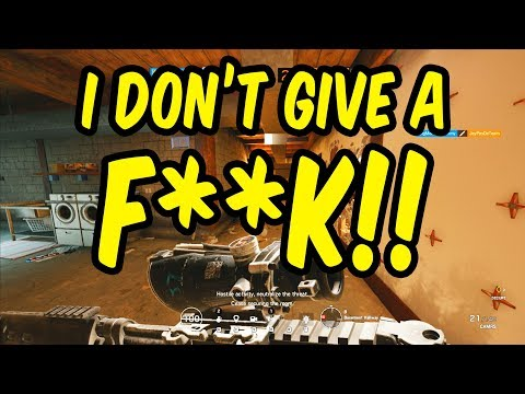 When The Toxicity Gets To You - Rainbow Six Siege Funny Moments (Siege Week)