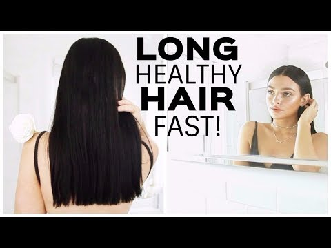 HOW TO GROW LONG HEALTHY HAIR FAST! HairCare Routine (Curly hair)
