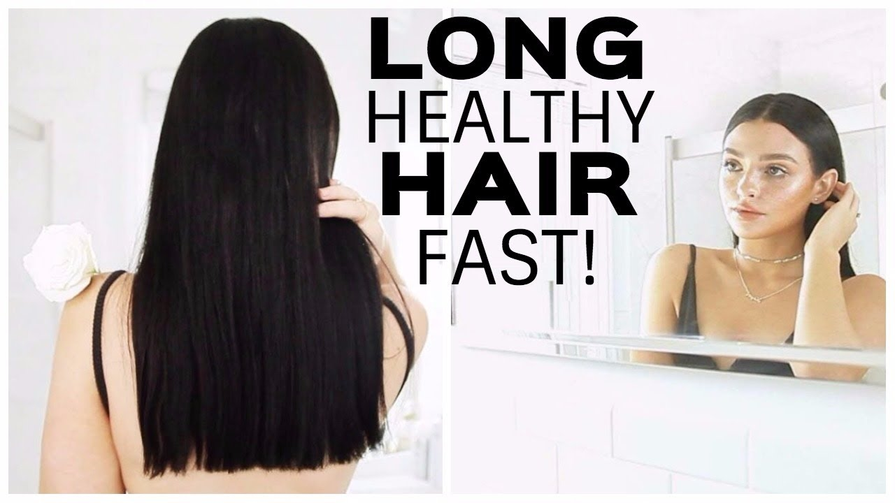 How To Grow Long Healthy Hair Fast Haircare Routine Curly