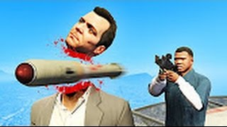 GTA V   How many people can you kill with 1 Bullet