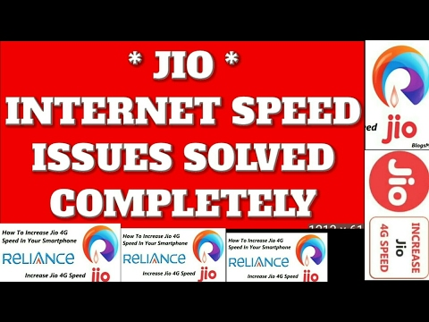 Thumbnail: Jio Data Speed Problem Solved | Official Tips For Jio