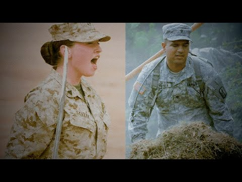 Marine Corps vs Army -Top 3 Differences (Marine Reacts)