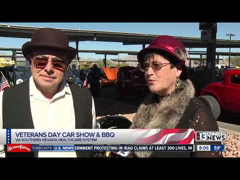 Veterans Day Car Show And BBQ In North Las Vegas