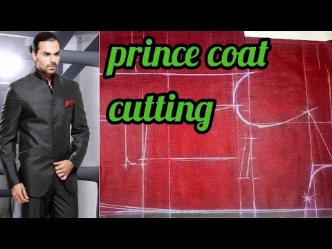 Jodhpuri Prince coat cutting