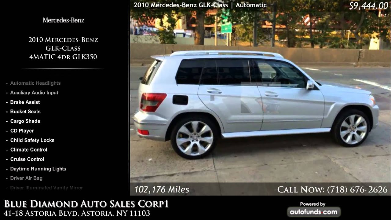 Used 2010 Mercedes Benz GLK Class