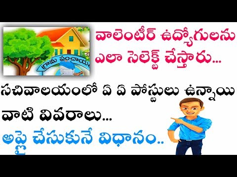 Voluntary jobs// Sachivalaya jobs how much salary credited in bank account those jobs